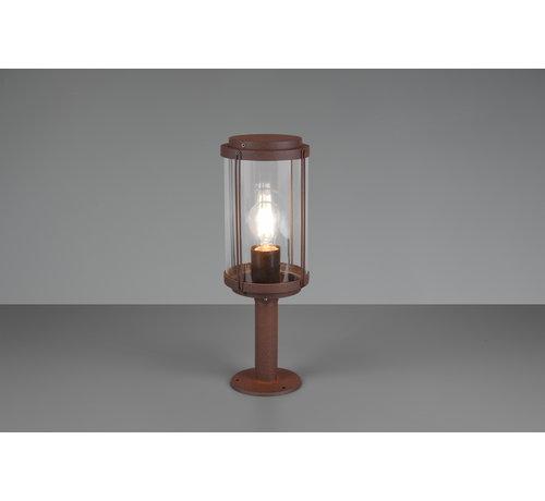 Trio Leuchten Buitenlamp Tanaro 40cm - Roestbruin