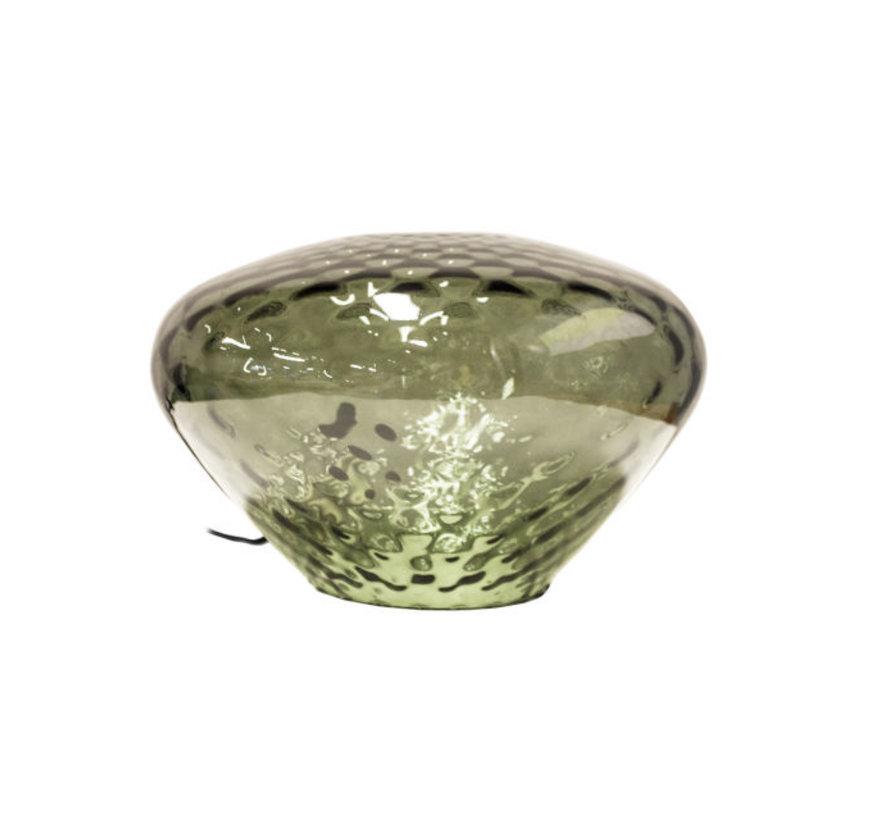 Tafellamp Pura Wide - Smoke Green
