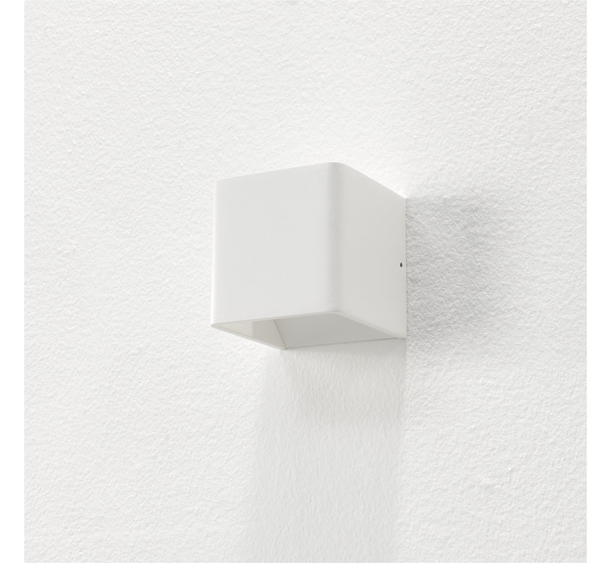 Wandlamp Fulda - Wit