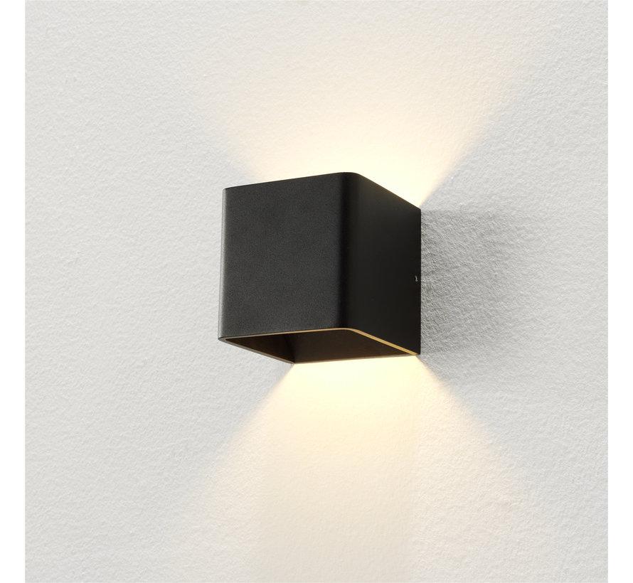 Wandlamp Fulda - Zwart