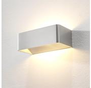 Artdelight Wandlamp Mainz - Aluminium