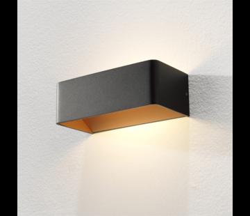 Artdelight Wandlamp Mainz - Zwart/Goud