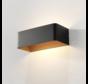 Wandlamp Mainz - Zwart/Goud