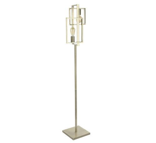 Van de Heg Vloerlamp Quball 3L - Messing