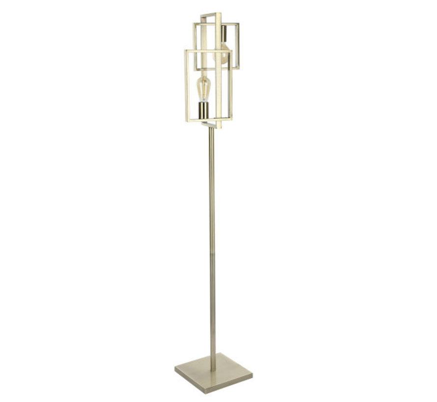 Vloerlamp Quball 3L - Messing