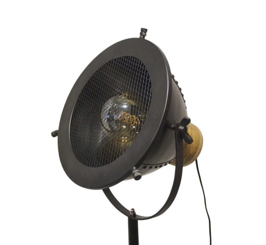 Vloerlamp Brenton - Gun Metal