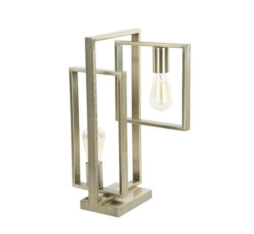 Van de Heg Tafellamp Quball 2L - Messing