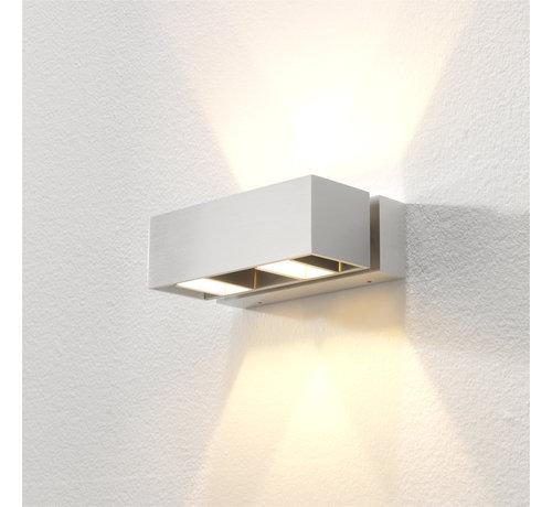 Artdelight Wandlamp Bfeld II - Aluminium
