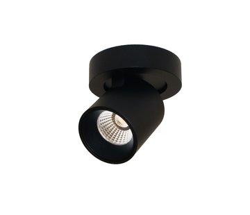 Artdelight Plafondlamp Laguna 1L Rond - Zwart