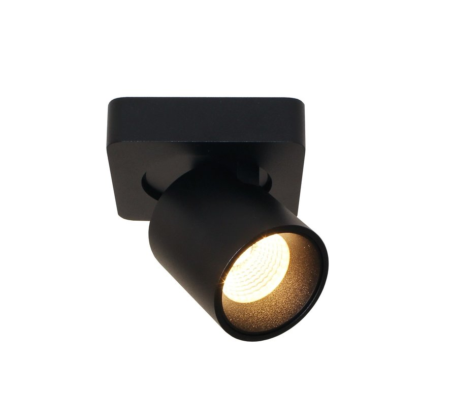Plafondlamp Laguna 1L - Zwart