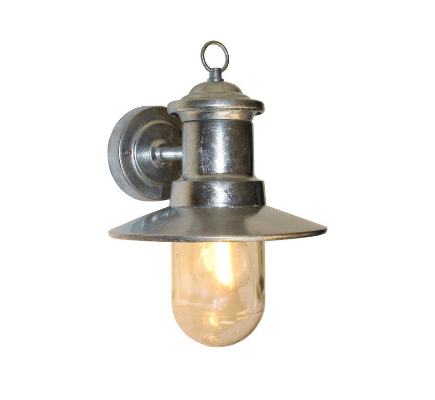 Wandlamp Visserslamp - Mat Staal