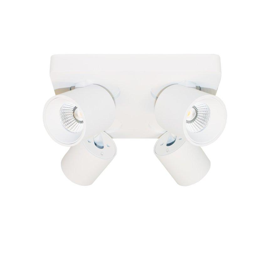 Plafondlamp Laguna 4L - Wit