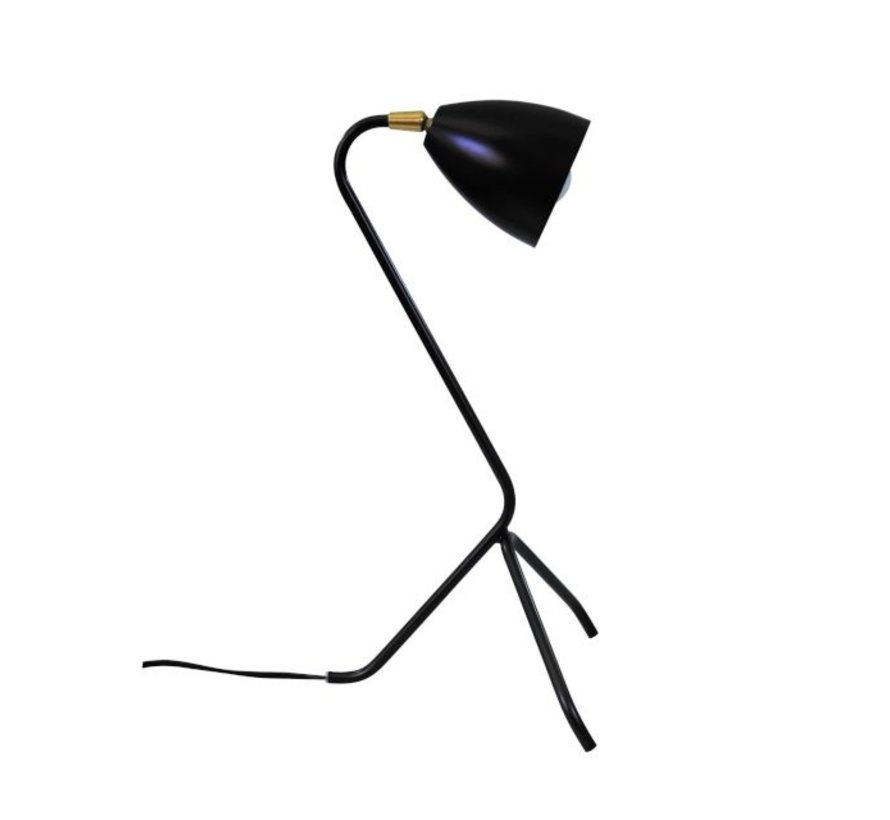 Tafellamp Baldwin - Zwart