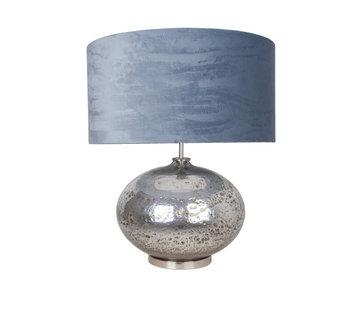Van de Heg Tafellamp Aliveo Marmore - Zilver/Ice Blue