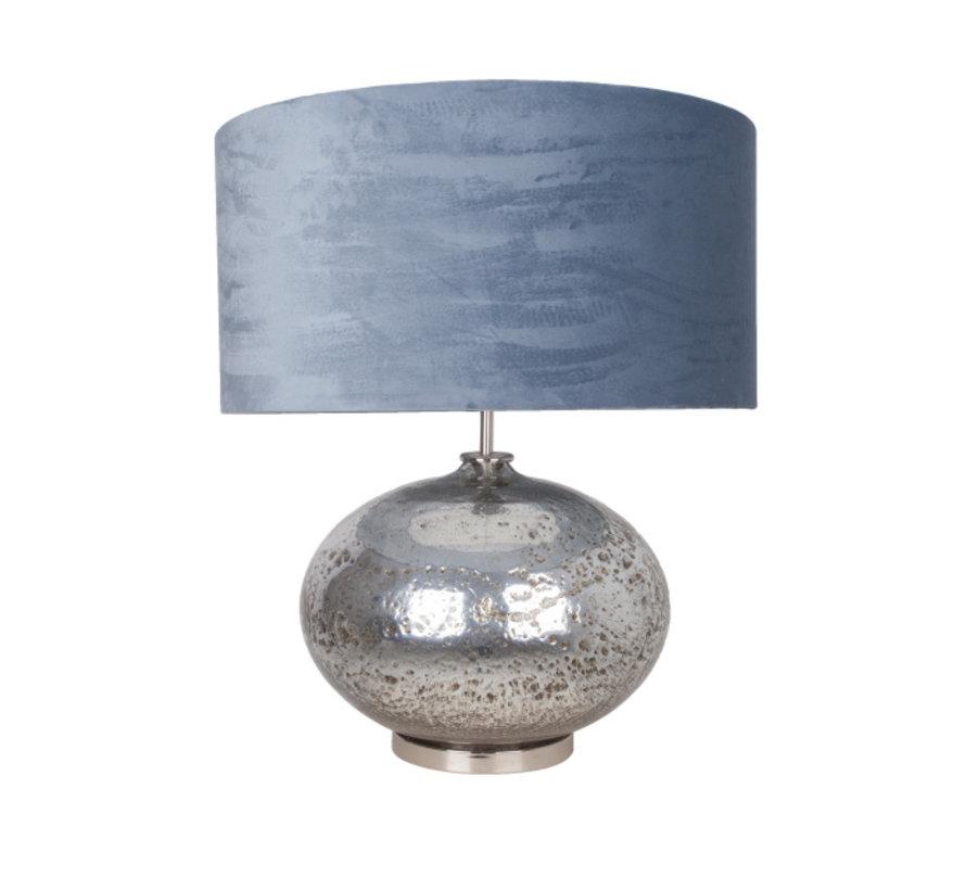 Tafellamp Aliveo Marmore - Zilver/Ice Blue