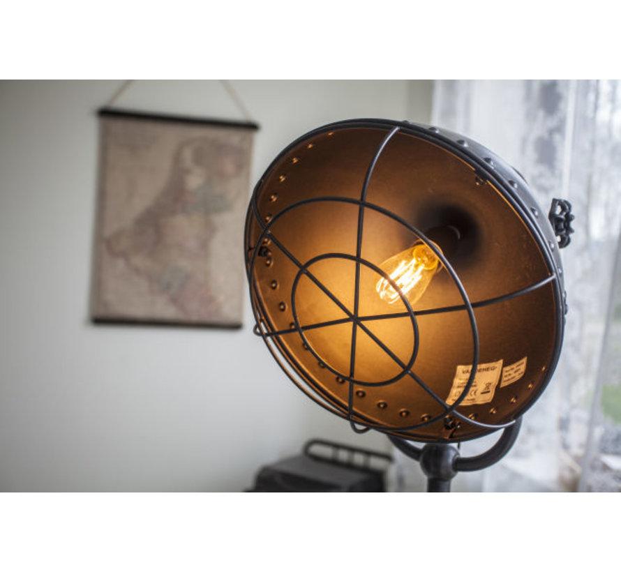 Vloerlamp Tripod Vikinn - Gun Metal