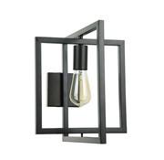 Van de Heg Wandlamp Foldable Quadro - Zwart