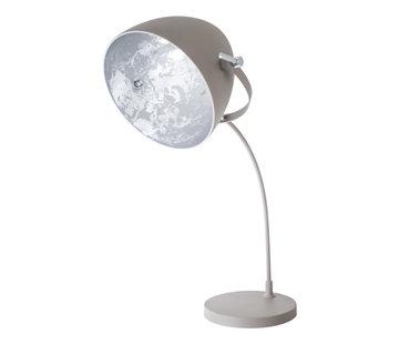 Van de Heg Tafellamp Egg Concrete -  Zilver