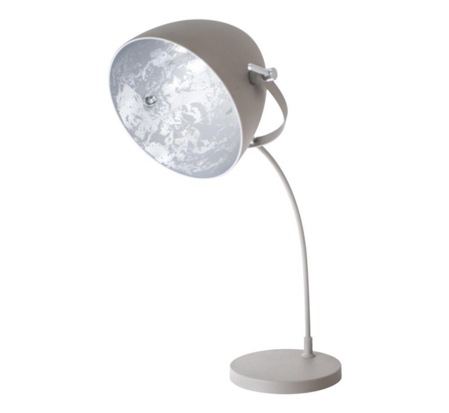 Tafellamp Egg Concrete -  Zilver