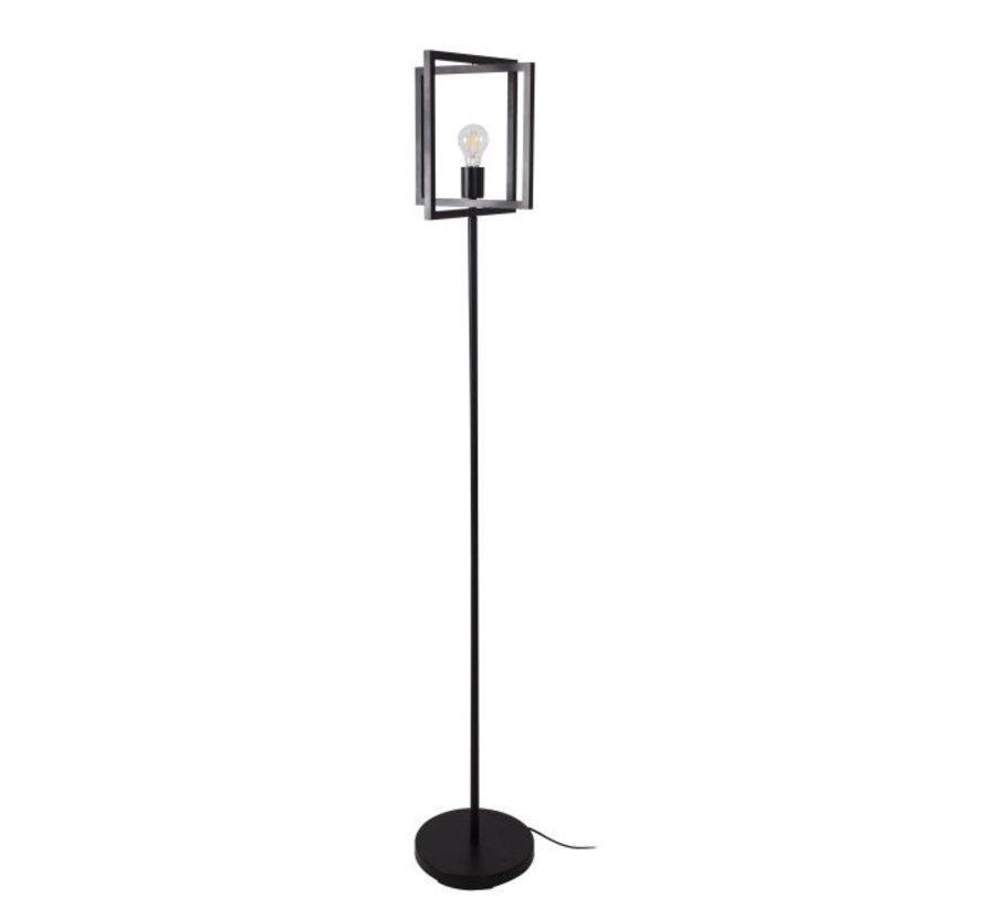 Vloerlamp Foldable Quadro - Zwart