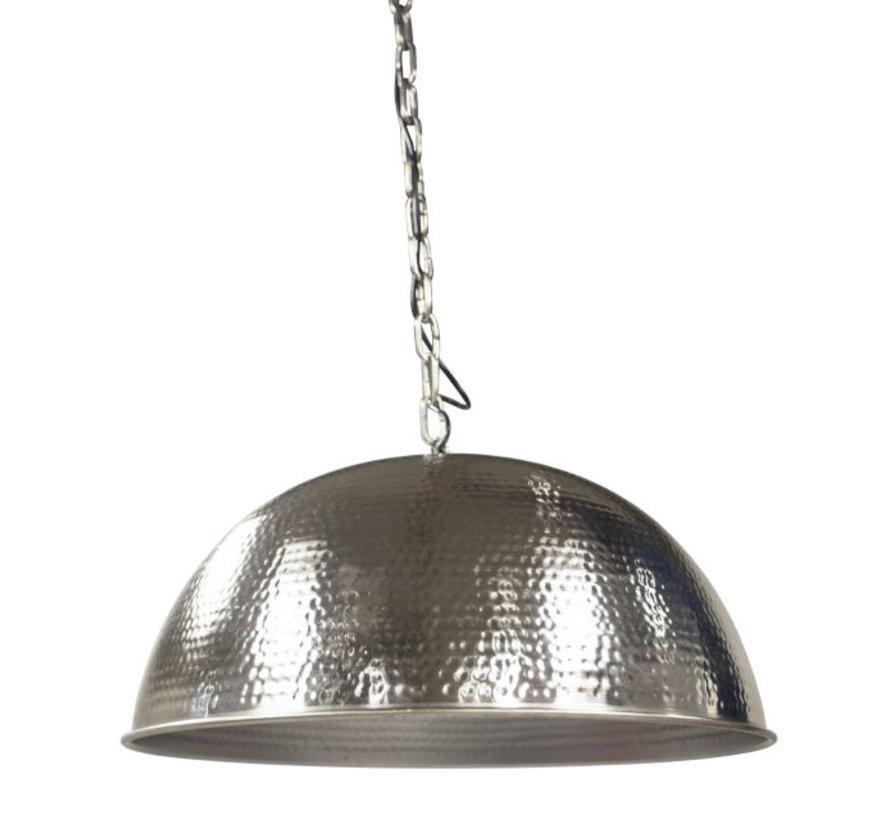 Hanglamp Hammered Big - Zilver