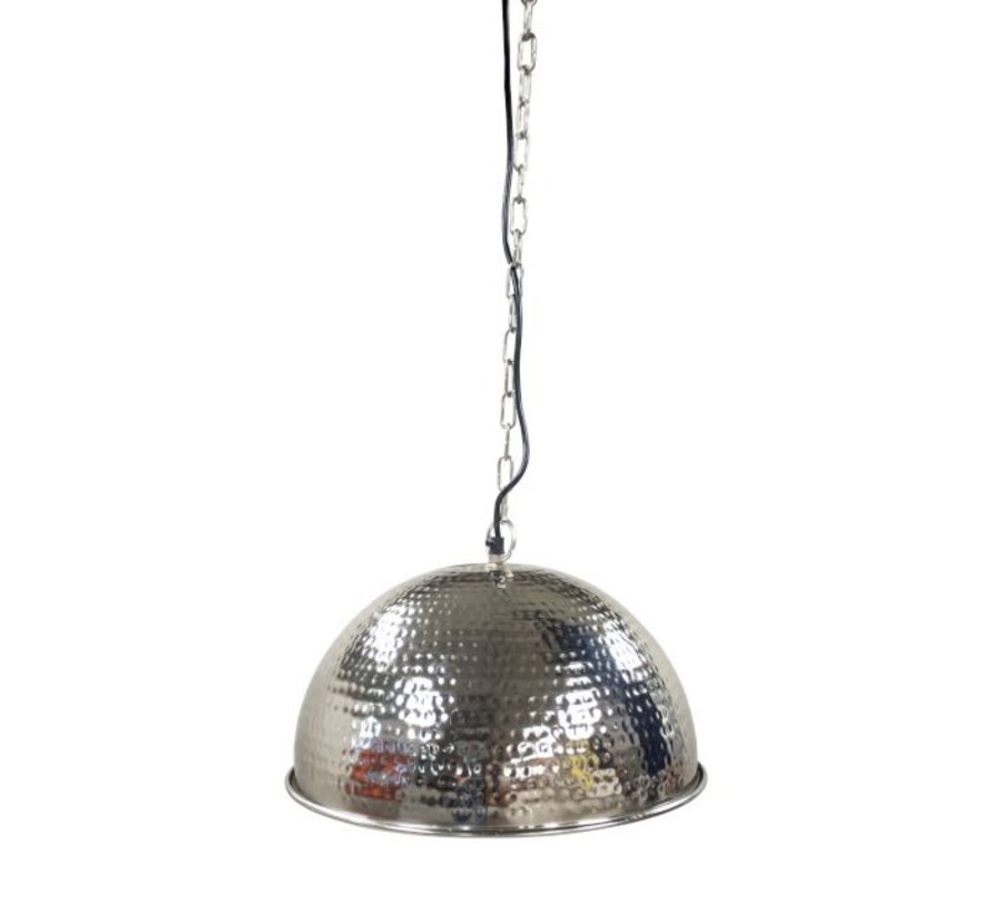 Hanglamp Hammered Small - Zilver
