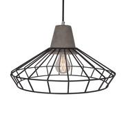 Van de Heg Hanglamp Brant - Metaal/Beton/Zwart