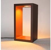 Artdelight Tafellamp Corridor - Bruin/Goud