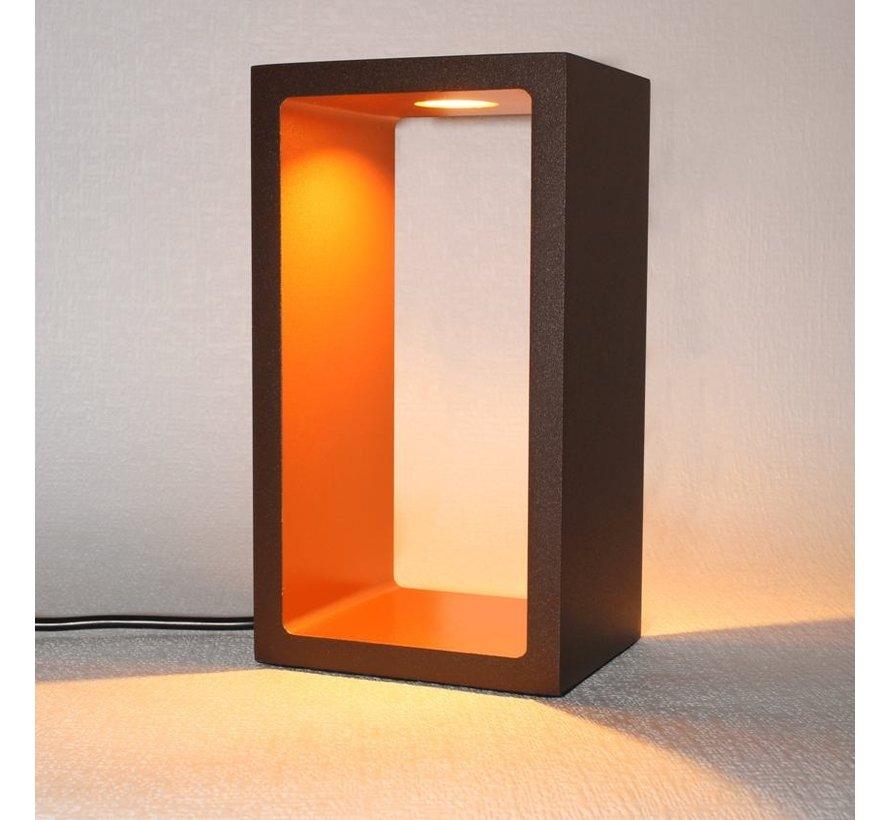 Tafellamp Corridor - Bruin/Goud