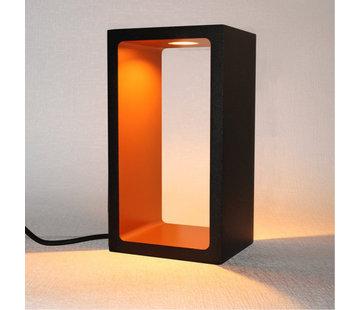 Artdelight Tafellamp Corridor - Zwart/Goud