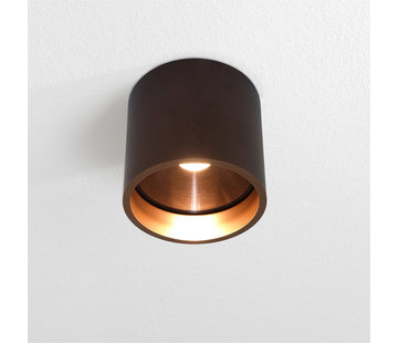 Artdelight Plafondlamp Orleans - Brons