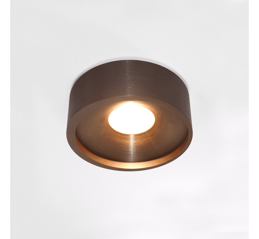 Plafondlamp Orlando - Brons