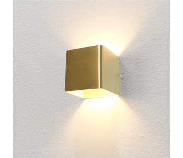 Artdelight Wandlamp Fulda - Goud