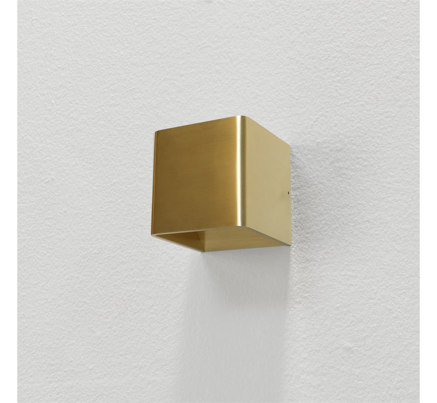 Wandlamp Fulda - Goud