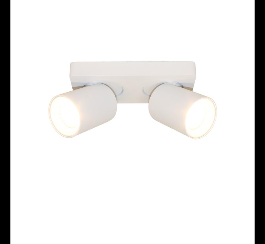Plafondlamp Megano 2L - Wit
