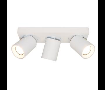 Artdelight Plafondlamp Megano 3L - Wit