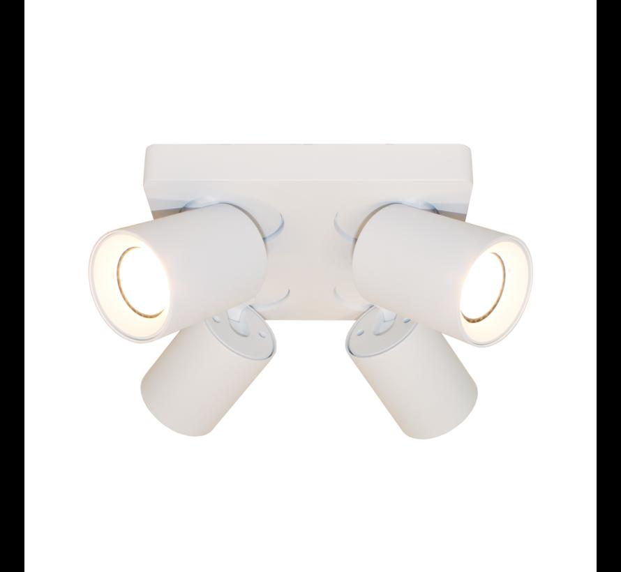 Plafondlamp Megano 4L - Wit
