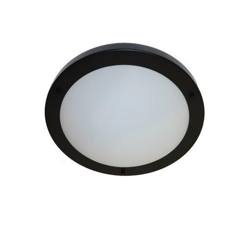 Artdelight Plafondlamp Yuca I Led - Zwart