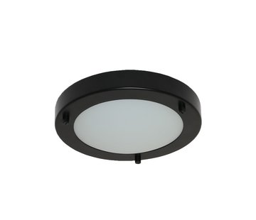 Artdelight Plafondlamp Yuca III Led - Zwart