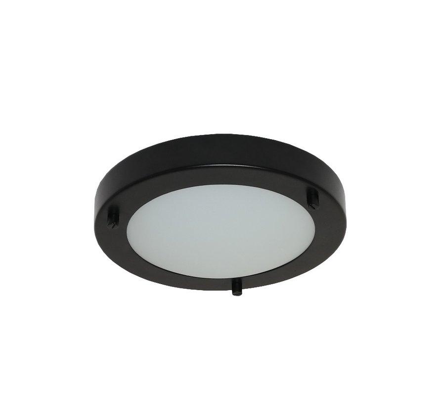 Plafondlamp Yuca III Led - Zwart