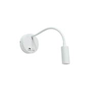 Artdelight Wandlamp Flex USB - Wit