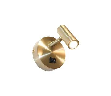 Artdelight Wandlamp Simply - Goud