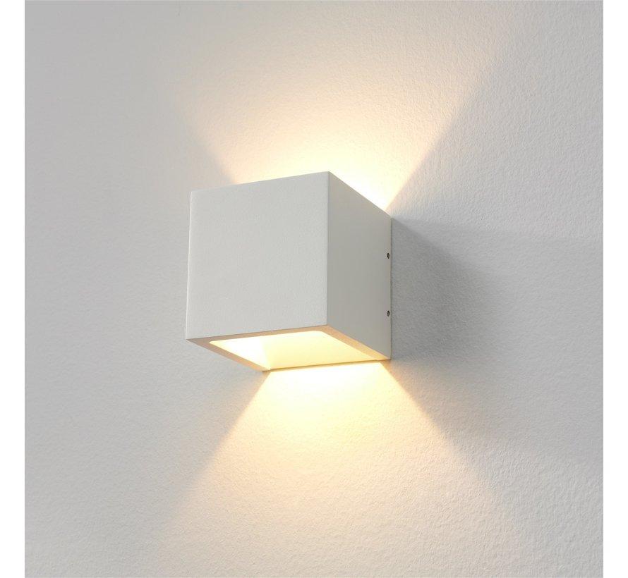 Wandlamp Cube  - Wit - Dim To Warm