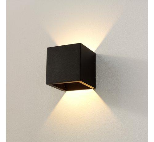Artdelight Wandlamp Cube - Zwart - Dim To Warm