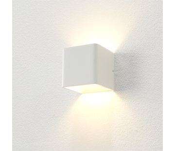 Artdelight Wandlamp Fulda - Wit - Dim To Warm