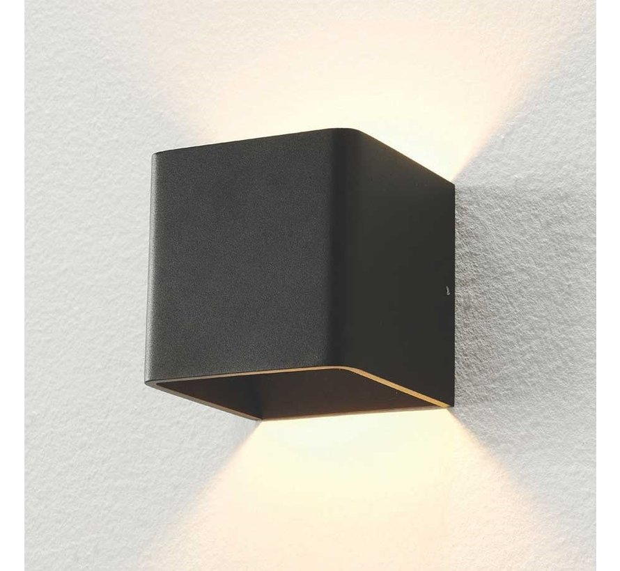 Wandlamp Fulda - Zwart - Dim To Warm