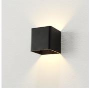 Artdelight Wandlamp Fulda - Zwart - Dim To Warm