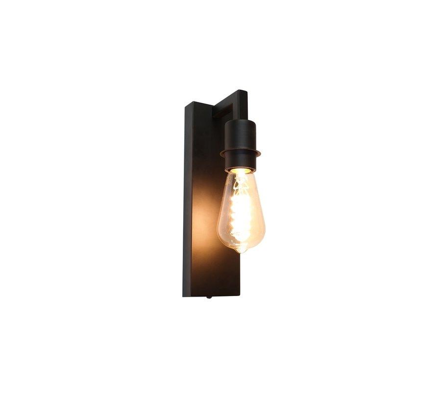 Wandlamp Movano - Zwart
