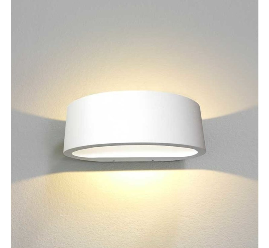 Wandlamp Sharp - Wit