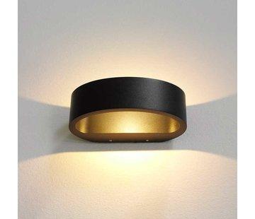 Artdelight Wandlamp Sharp - Zwart